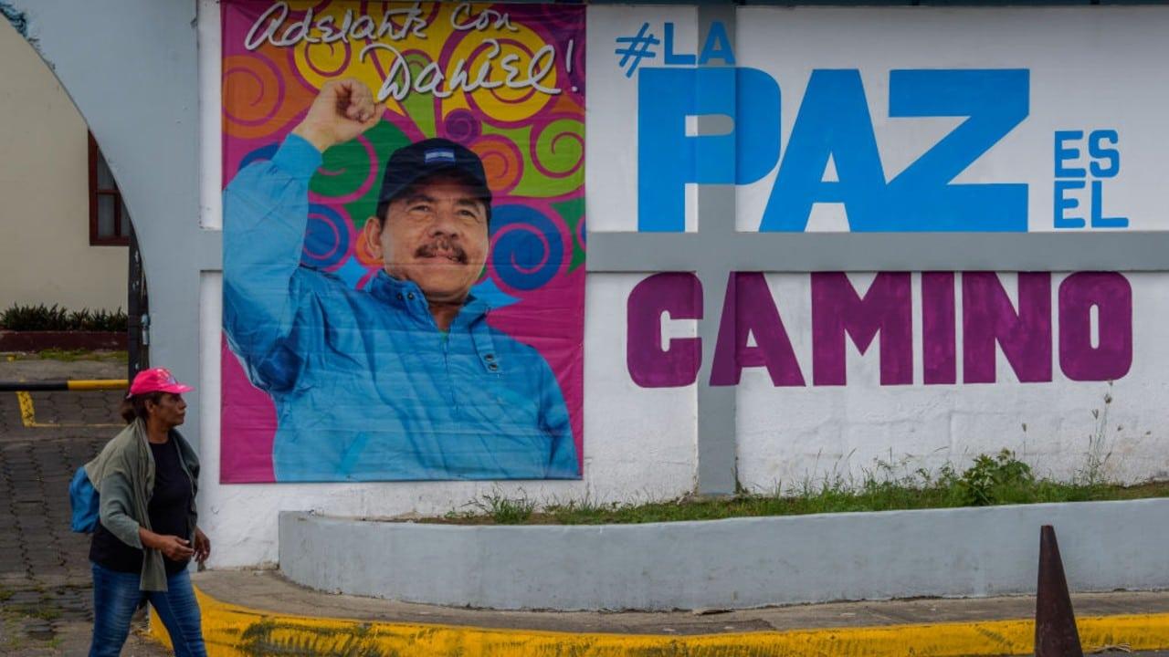 Imagen de Daniel Ortega, presidente de Nicaragua