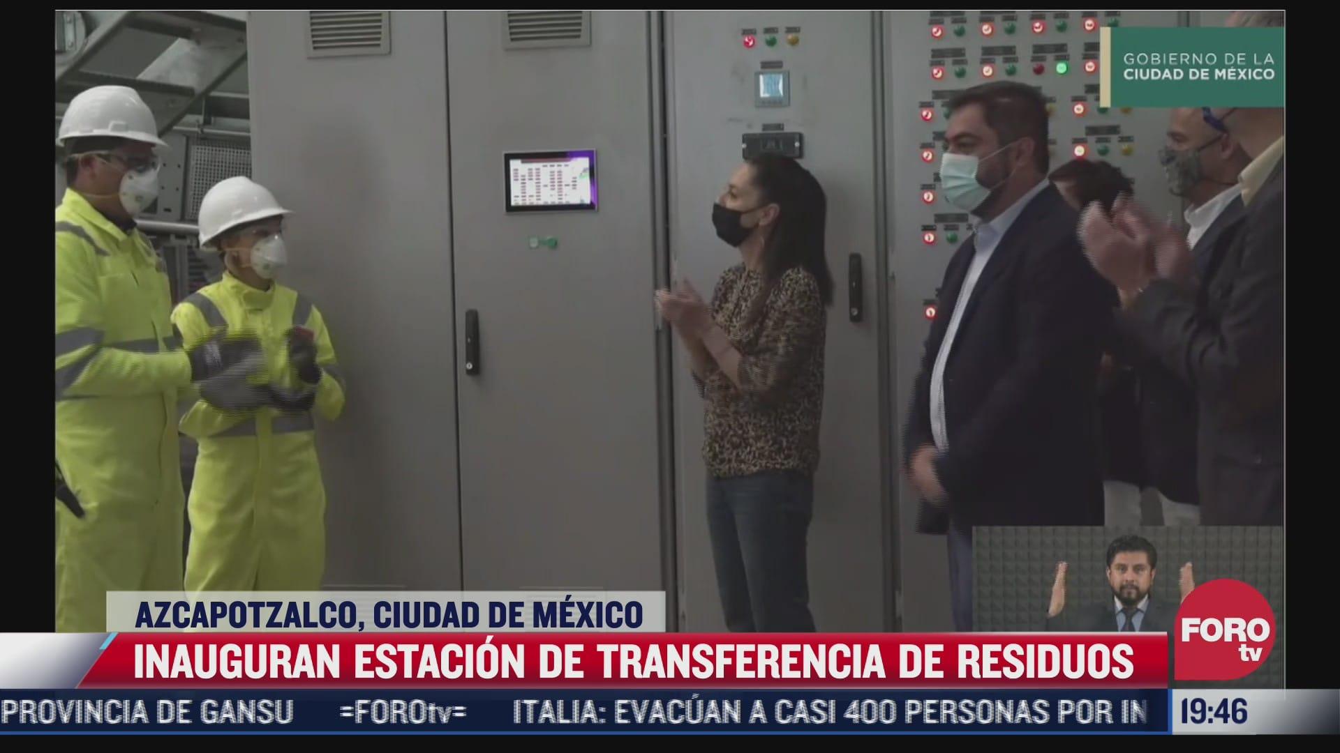 inauguran planta de procesamiento de basura en azcapotzalco