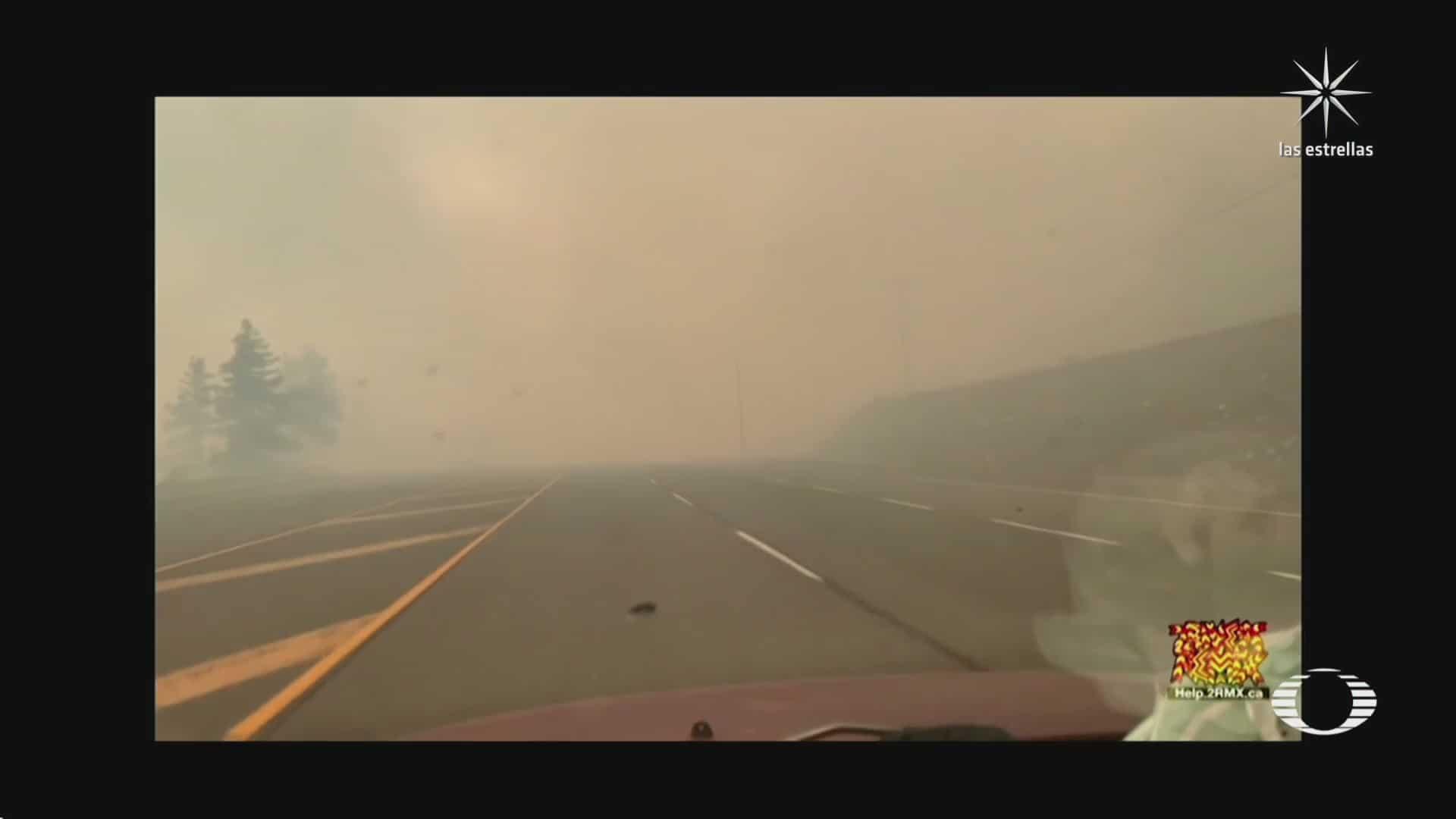 incendio forestal en canada agrava ola de calor