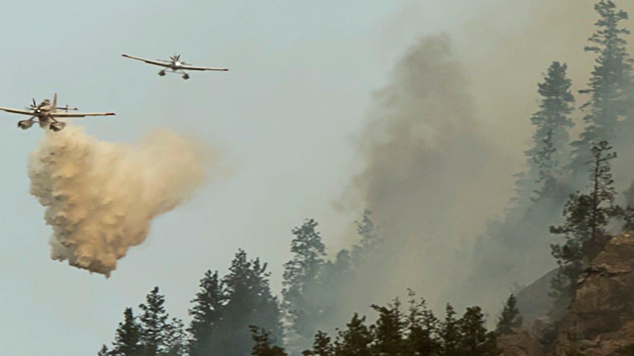 incendios forestales en canada