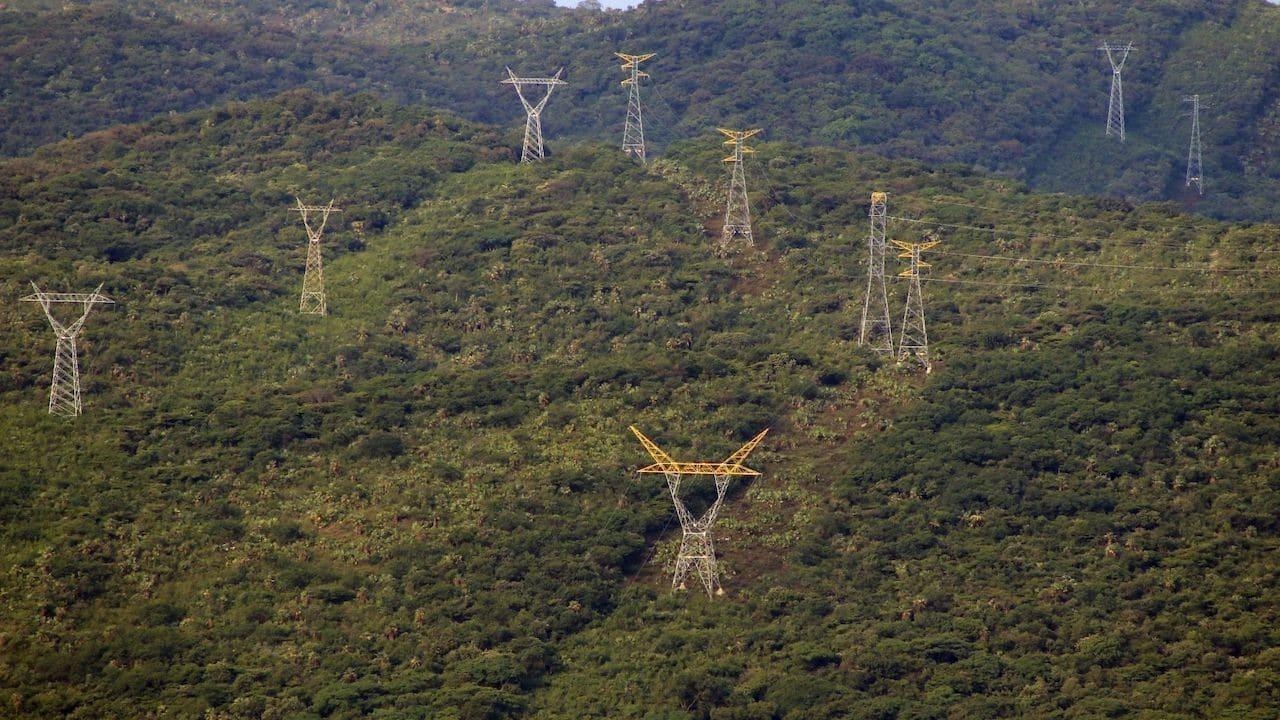 Antenas de energía eléctrica de la Comisión Federal de Electricidad (Cuartoscuro)