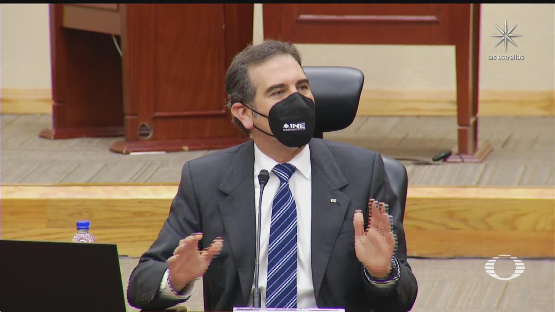ine pide no enganar a la ciudadania con la pregunta de la consulta de expresidentes