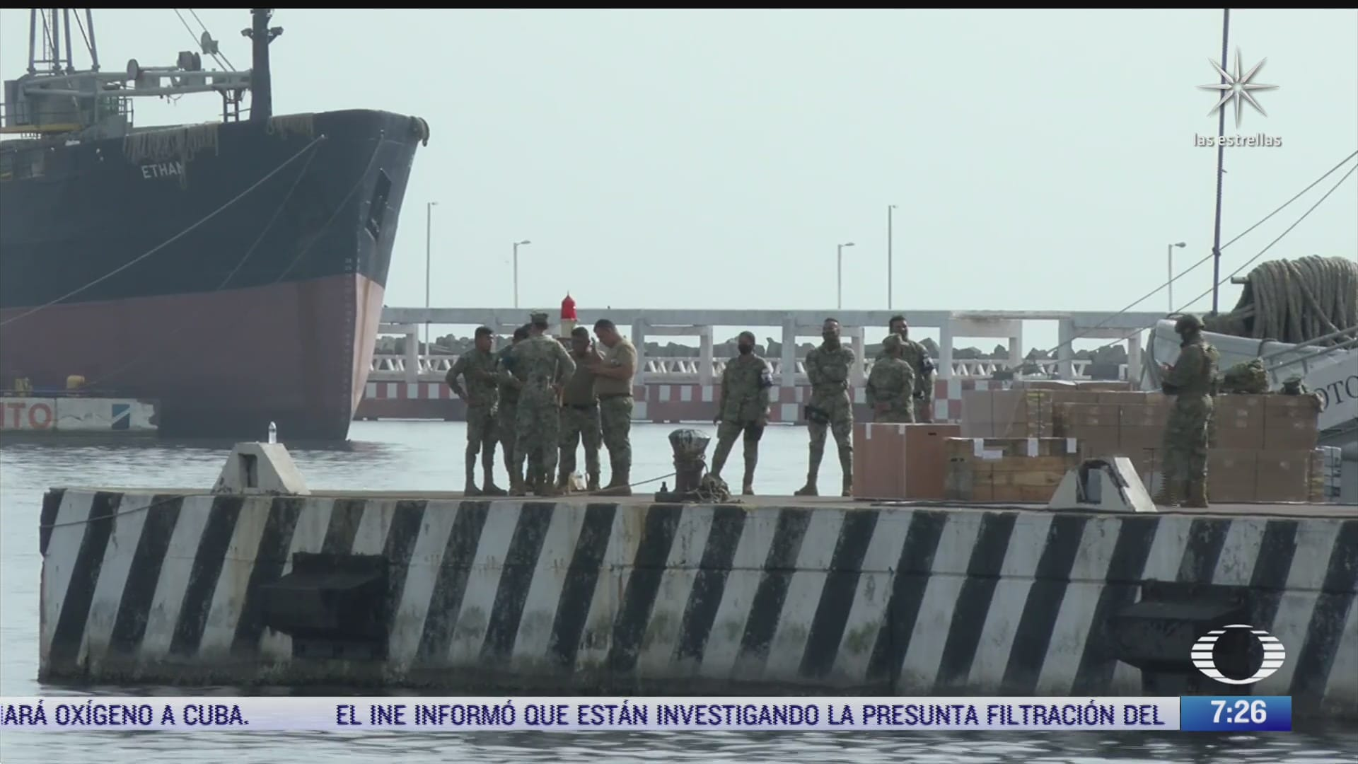 inicia embarque de ayuda humanitaria de mexico a cuba