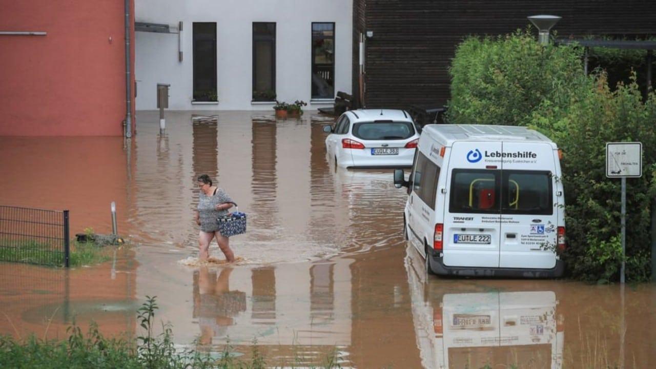 Intensas lluvias en Alemania dejan 6 muertos y 50 desaparecidos