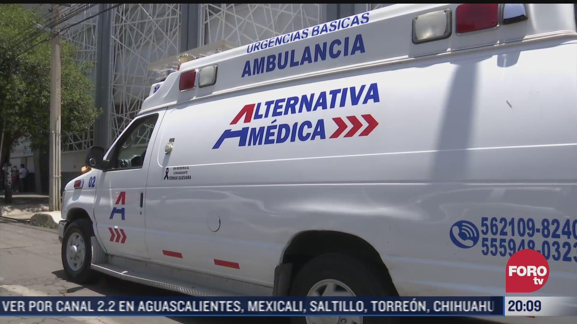 investigan presunta agresion sexual de paramedicos contra joven en cdmx
