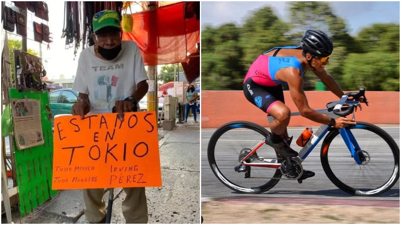 Irving Pérez, Tokyo 2020, Juegos Olímpicos, abuelo, triatlón
