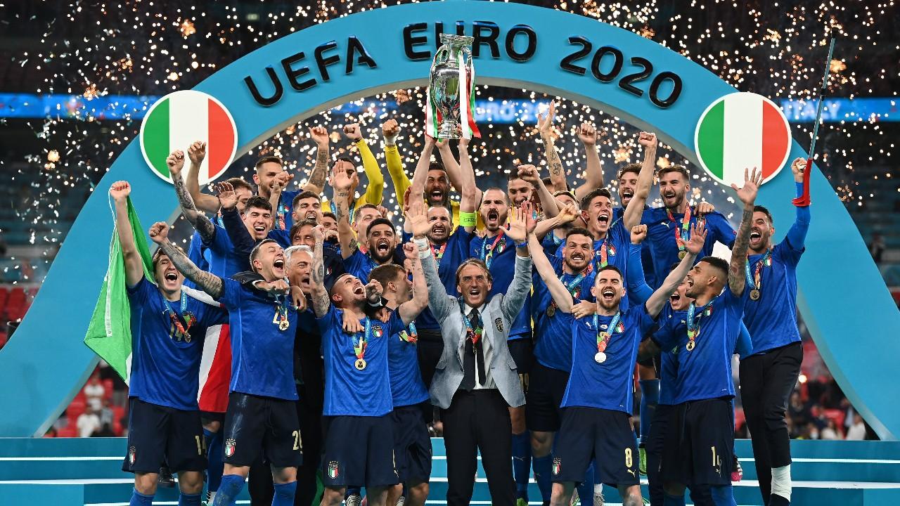 Italia se corona campeón de la Eurocopa 2020 tras vencer a Inglaterra en Wembley