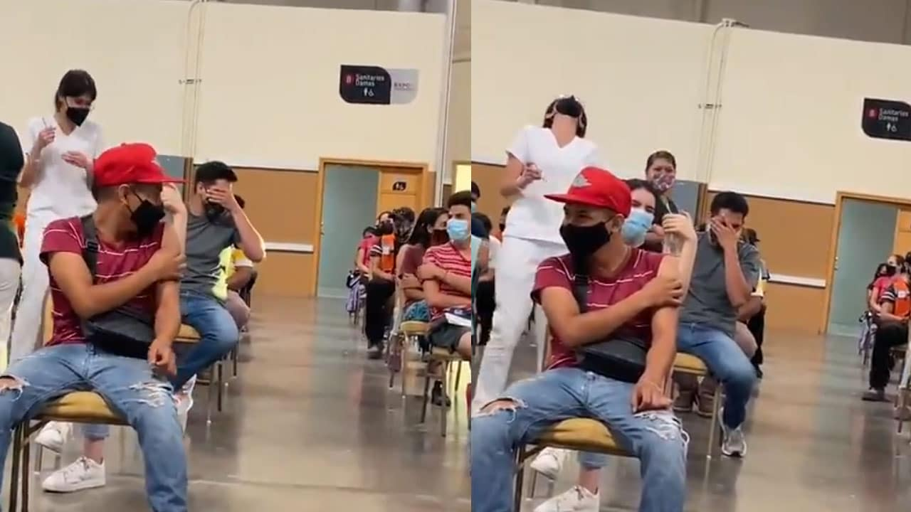 Video joven miedo vacuna covid 19 en Chihuahua