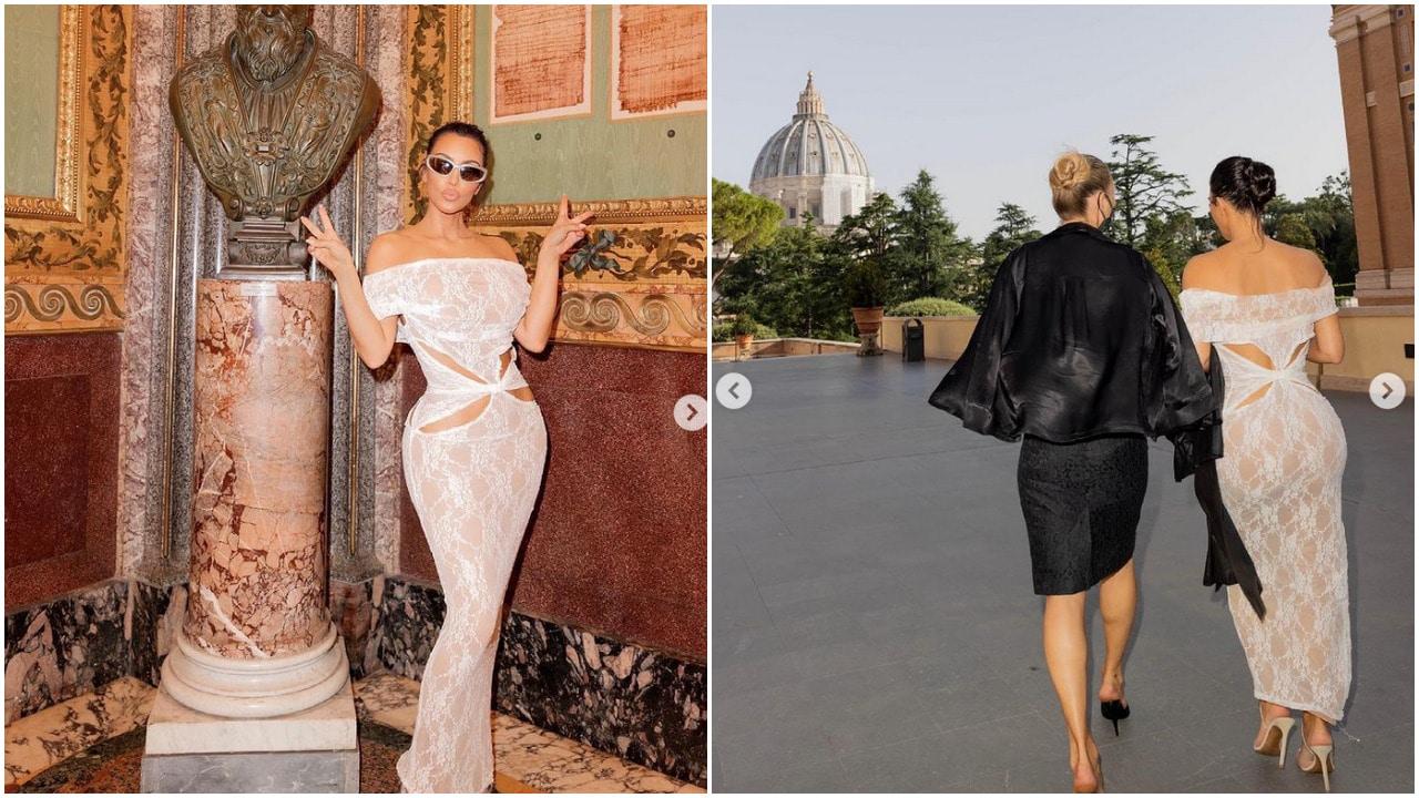 Kim Kardashian, Vaticano, Santa Sede, vestimenta, Instagram