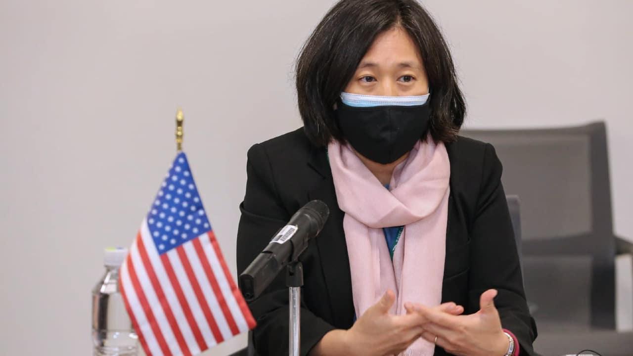 La representante comercial de Estados Unidos, Katherine Tai, se reunió con funcionarios de México