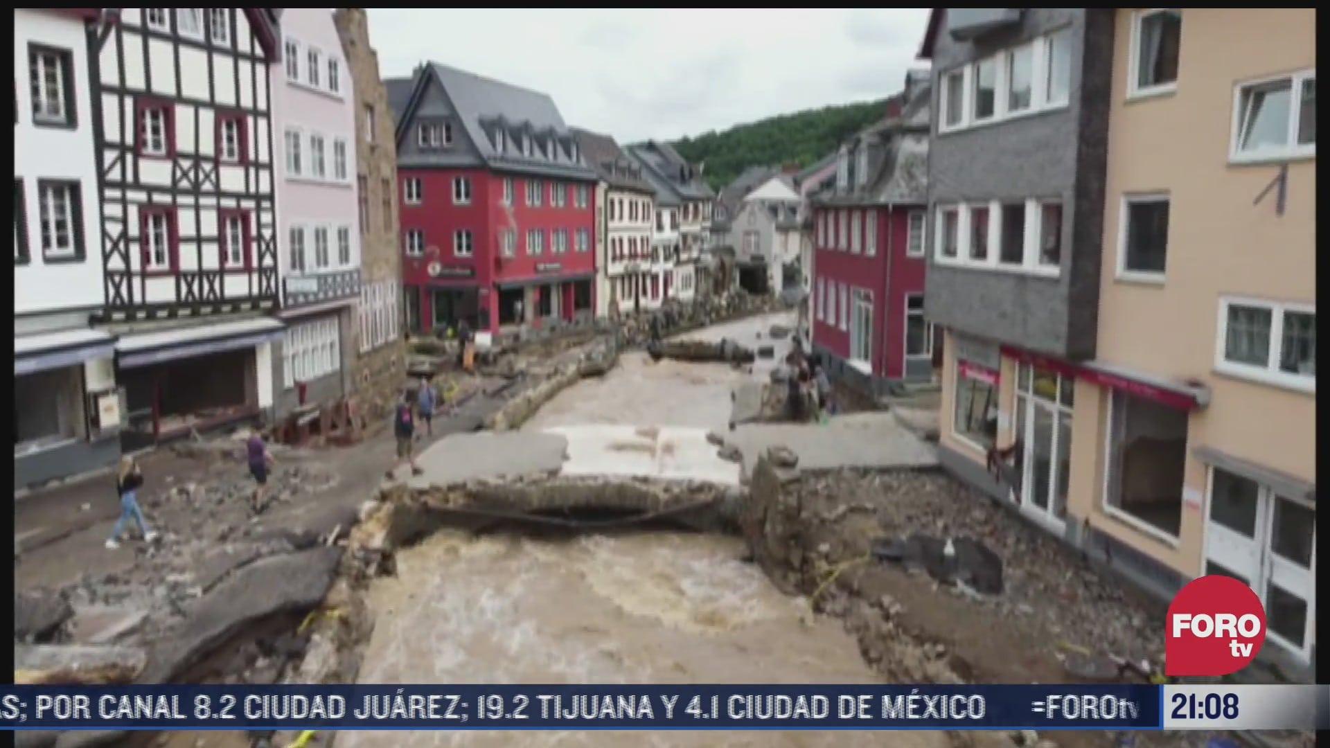 las peores lluvias en alemania y belgica en anos