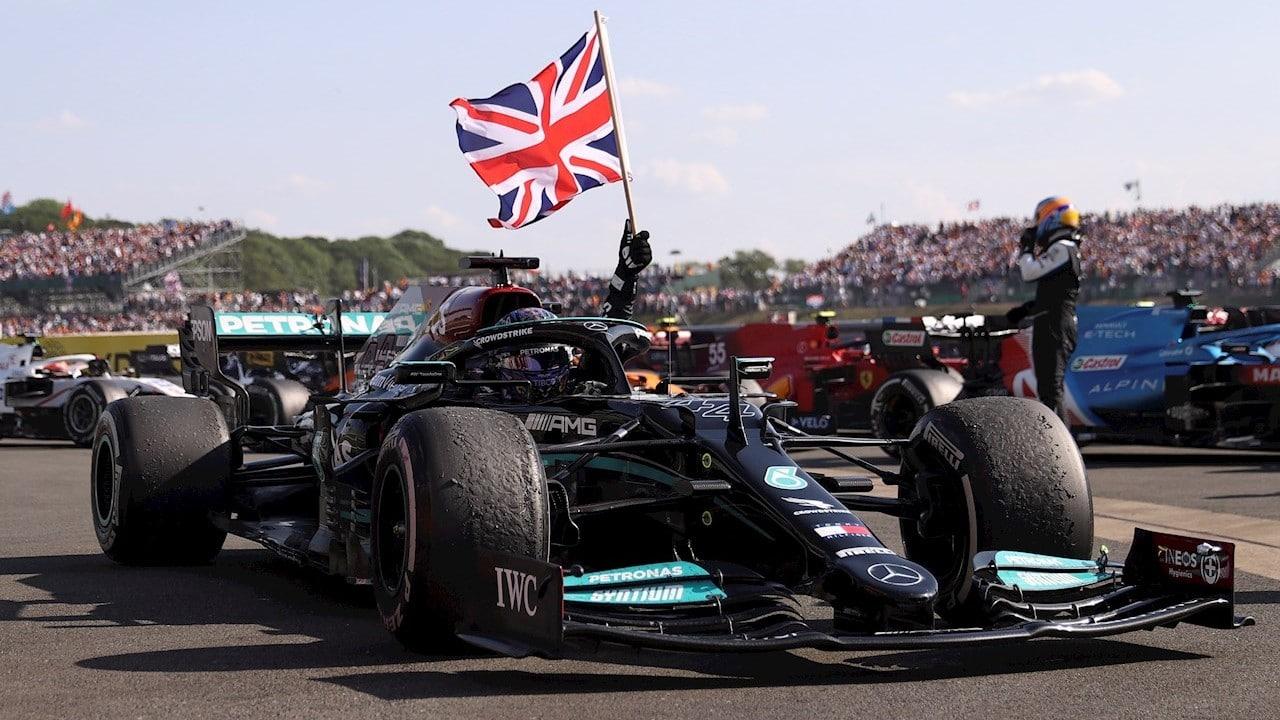 Lewis Hamilton gana en Silverstone