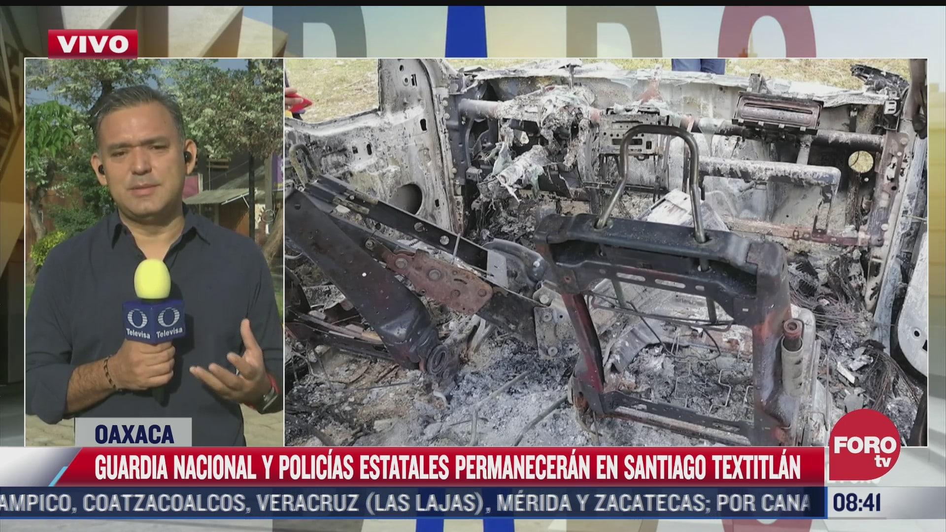 liberan a servidores publicos retenidos por pobladores en santiago textitlan oaxaca