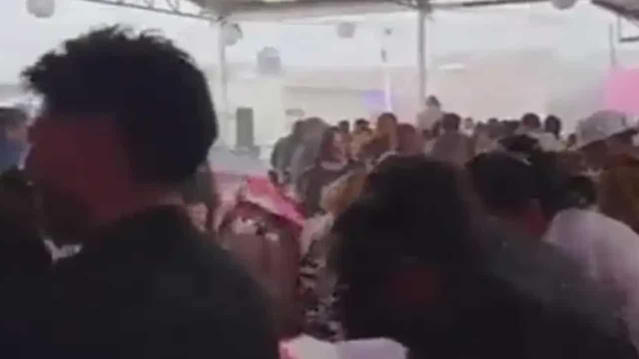 Fiesta arruinada por la lluvia (FOROtv)