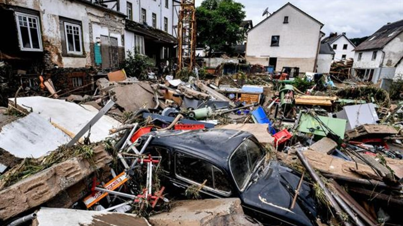 Lluvias dejan severos daños en Alemania