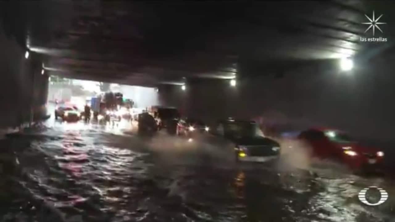 Lluvias e inundaciones afectan la Zona Metropolitana del Valle de México