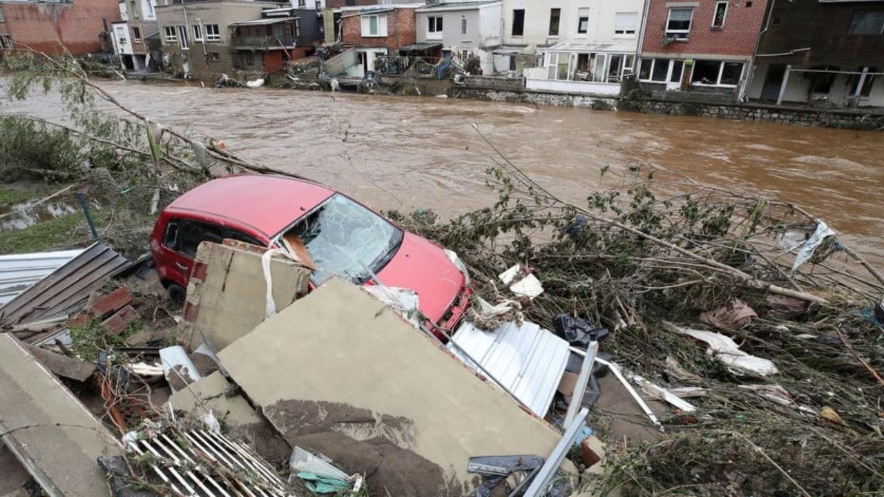 Lluvias torrenciales en Bélgica dejan varios muertos y desaparecidos