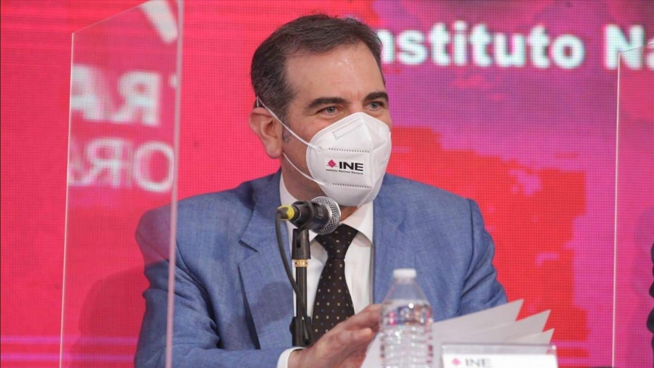 Lorenzo Córdova, presidente consejero del INE