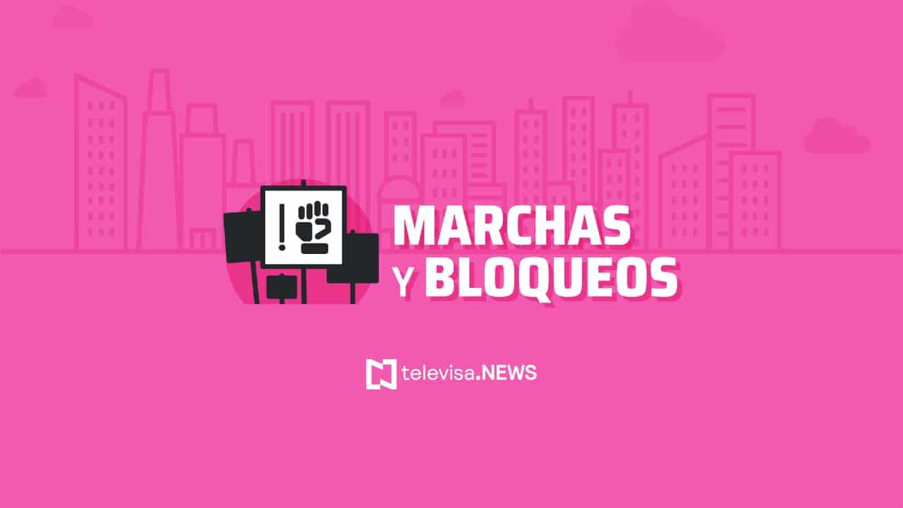 Autoridades de la Ciudad de México informaron que este sábado habrá varias marchas en la capital del país