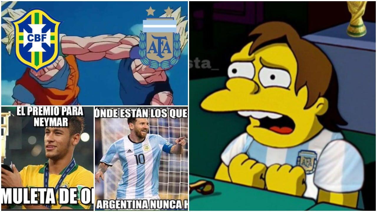 Memes de la final de la Copa América 2021 Brasil vs Argentina