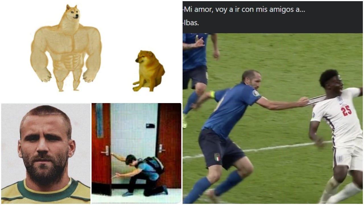 Memes de la final de la Eurocopa 2021 entre Italia e Inglaterra
