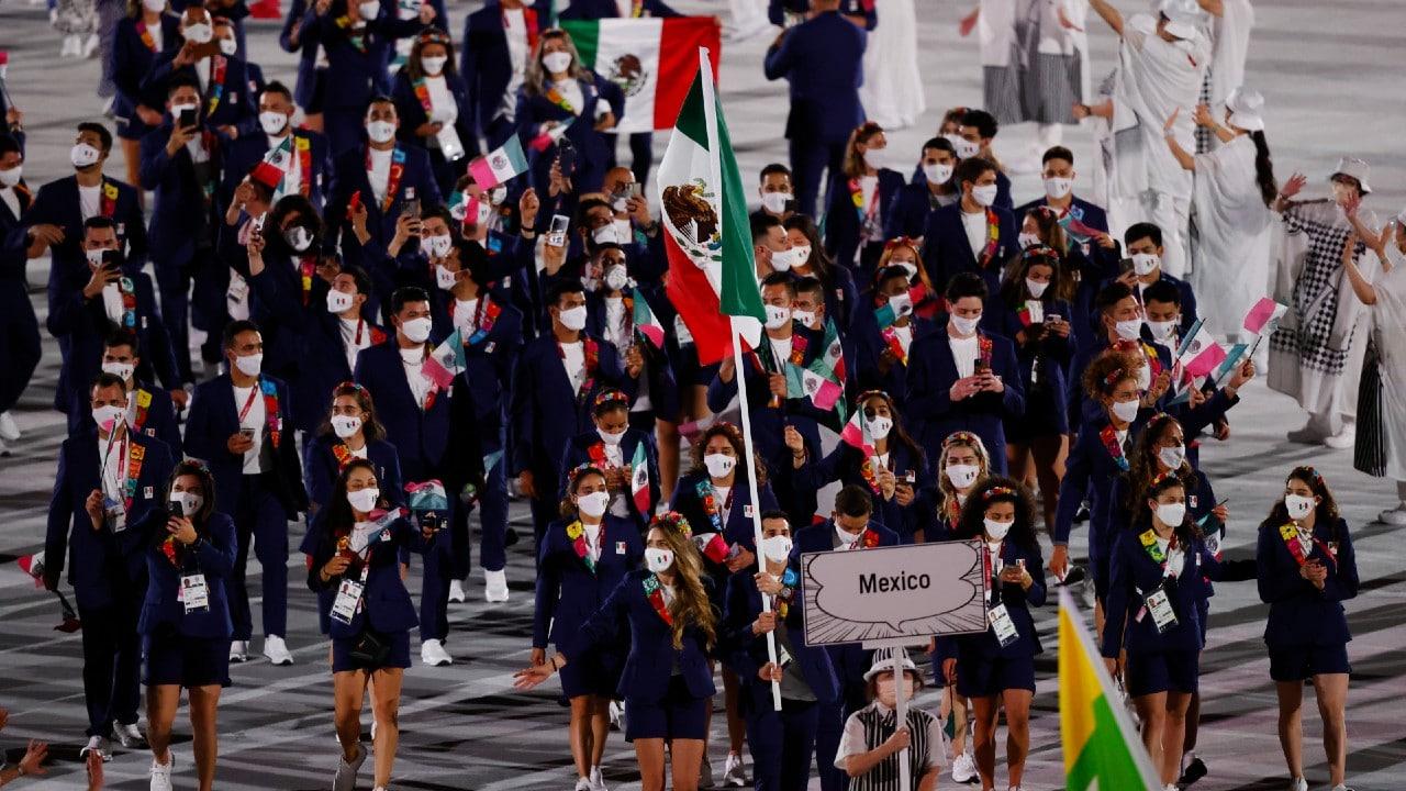 mexico en inauguracion de juegos olimpicos de tokio 2020