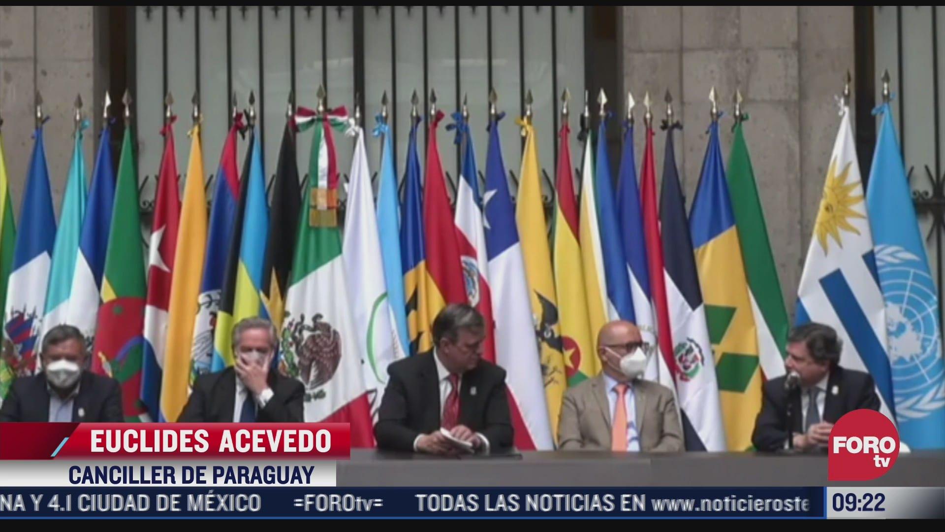 mexico firma declaratoria para creacion de la agencia latinoamericana y caribena del espacio