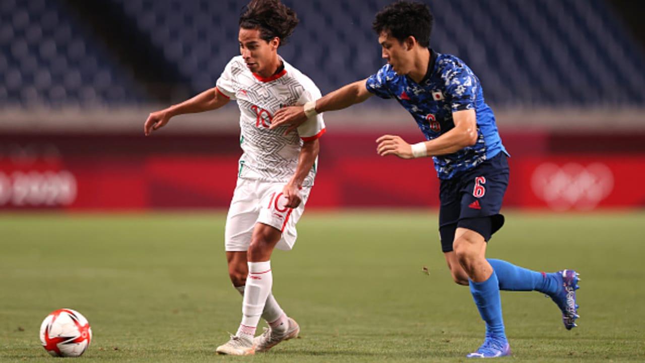México pierde ante Japón en futbol varonil de los Juegos Olímpicos de Tokyo 2020