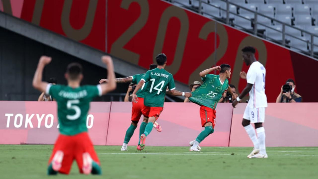 México se impone a Francia 4-1 en los Juegos Olímpicos Tokyo 2020