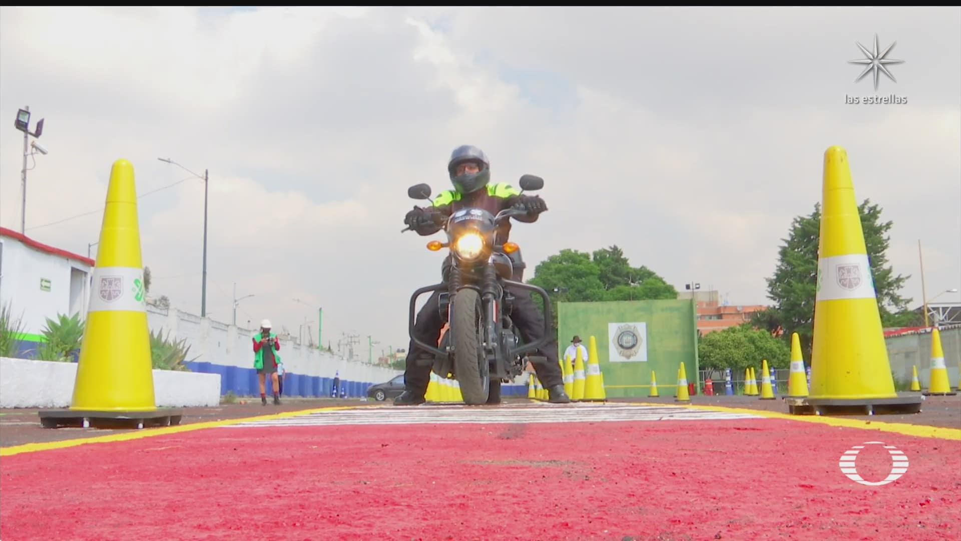 motociclistas obtendran licencia tras examen teorico y practico