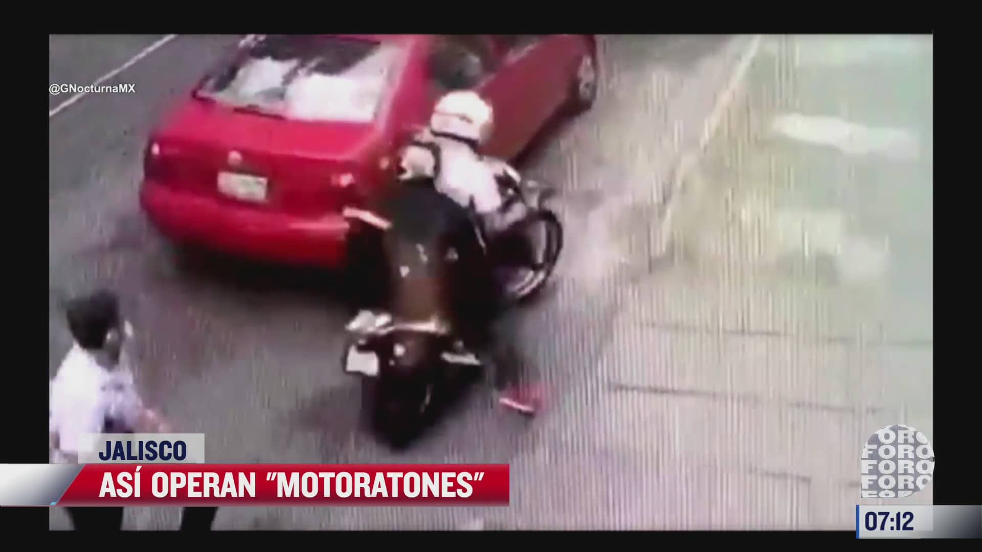 motoratones roban celular a un hombre
