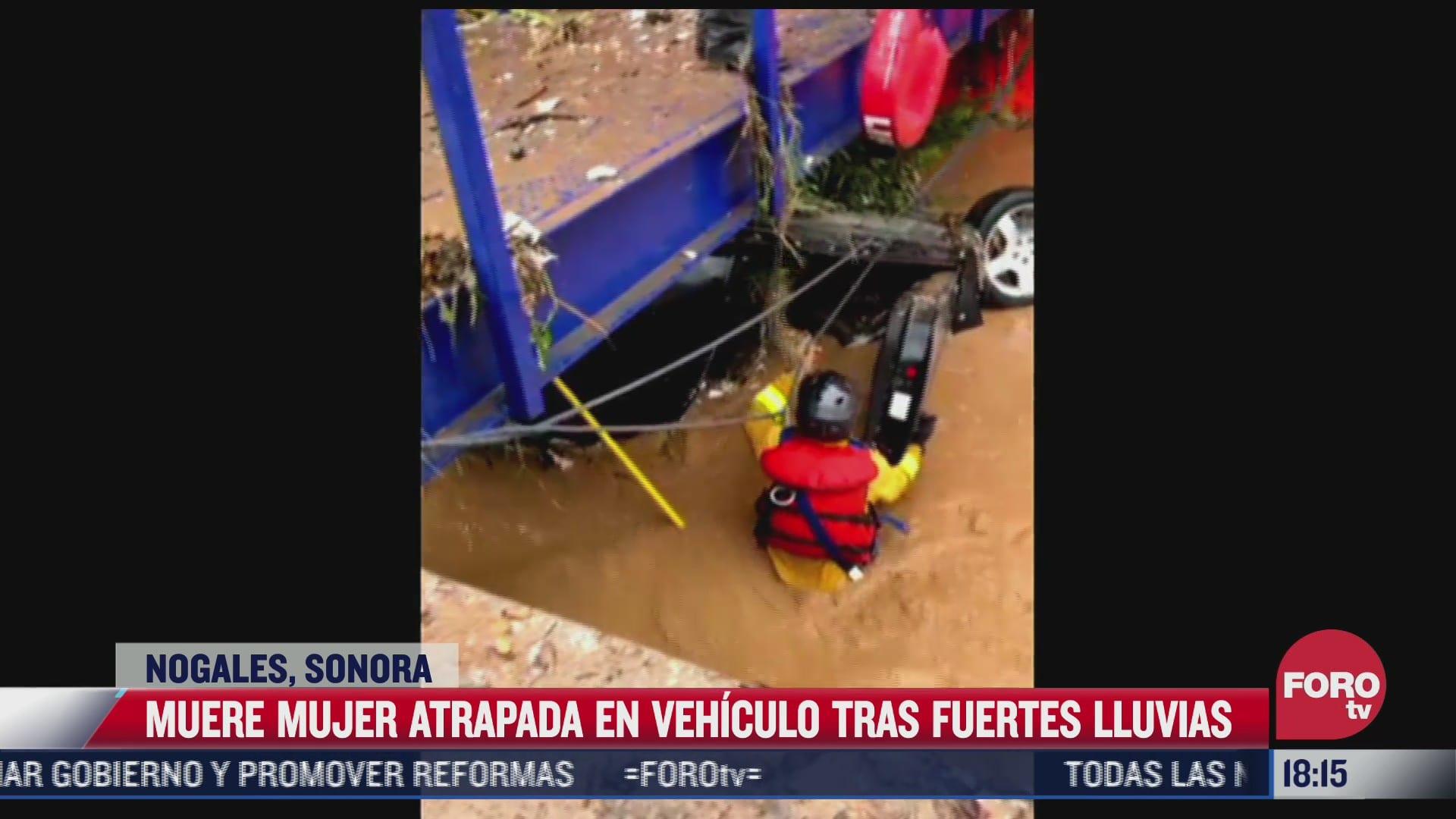 muere joven tras las fuertes lluvias e inundaciones registradas en nogales