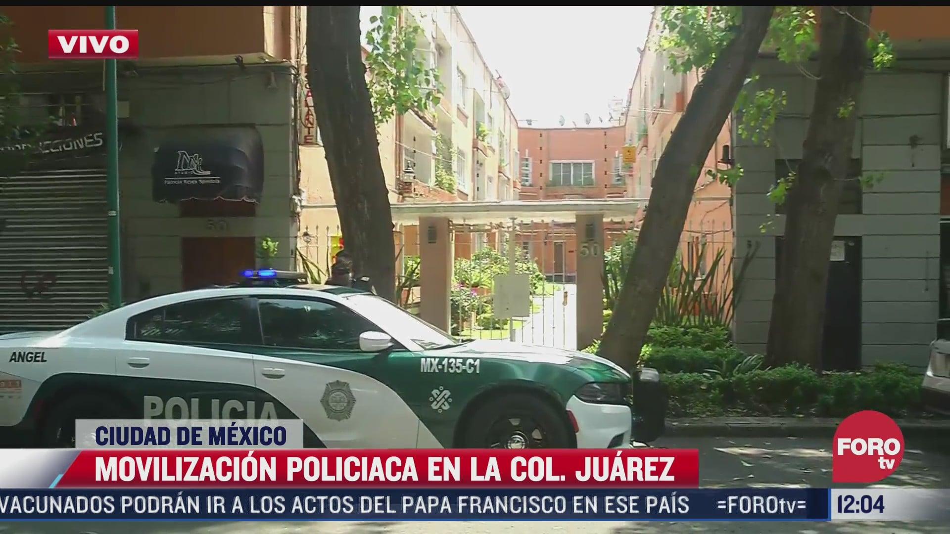 muere mujer en domicilio de la colonia juarez en la cdmx