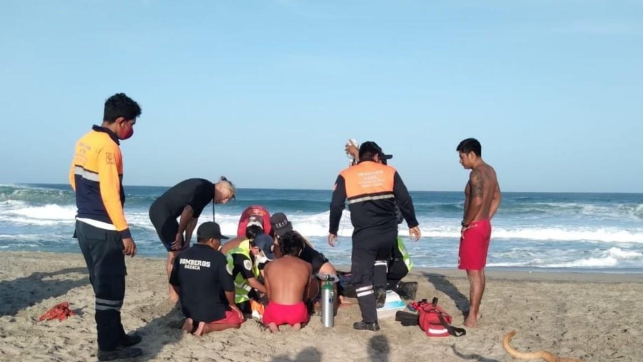Muere surfista español en Zicatela, Puerto Escondido