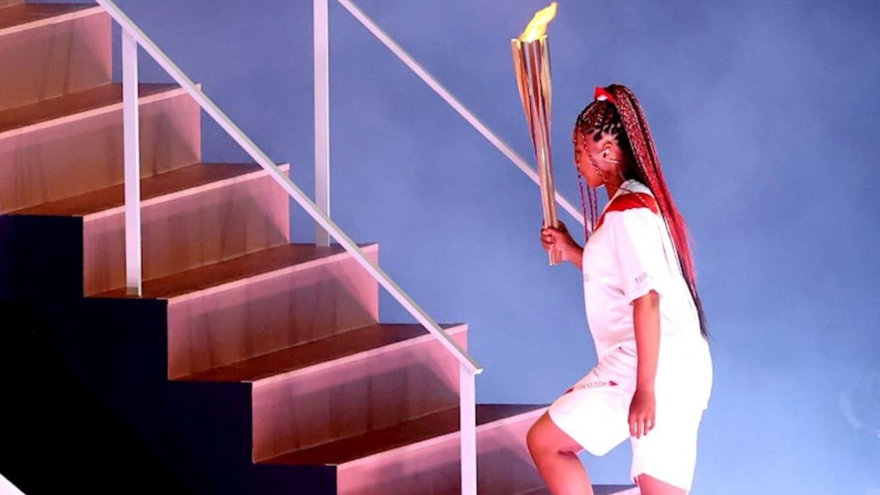 Naomi Osaka, la tenista que encendió el fuego de Tokyo 2020