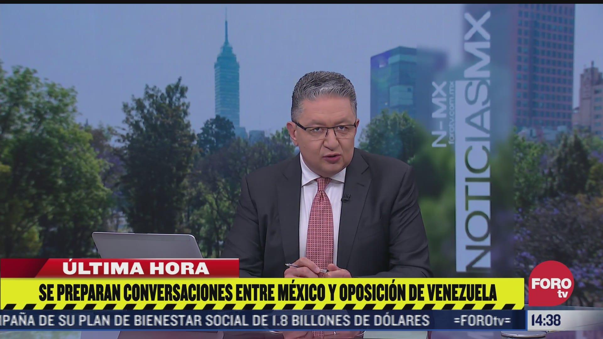 nueva ronda de negociaciones entre maduro y oposicion tendria lugar en mexico