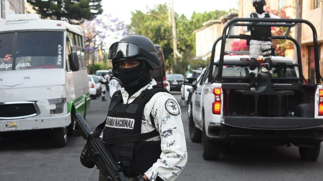 Detienen a integrantes de la Guardia Nacional por secuestro
