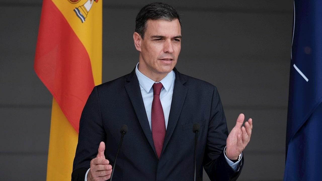 El presidente del Gobierno español, el socialista Pedro Sánchez