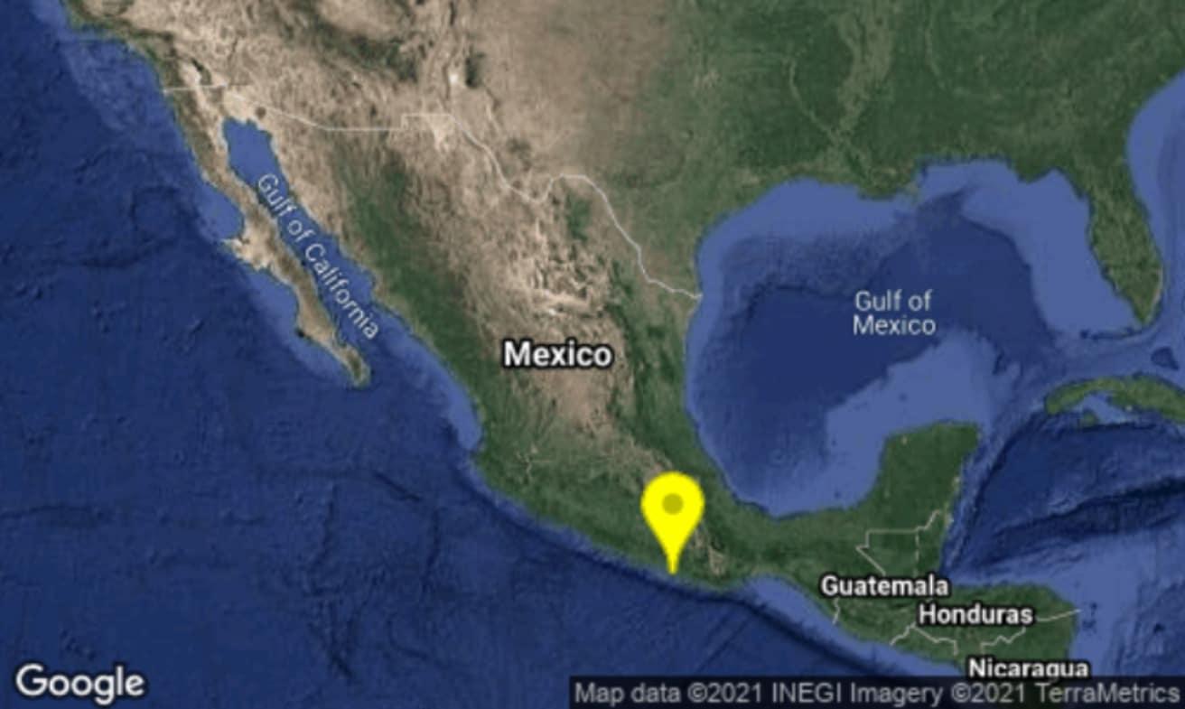 Se registra sismo magnitud 4.6 en Pinotepa Nacional, Oaxaca