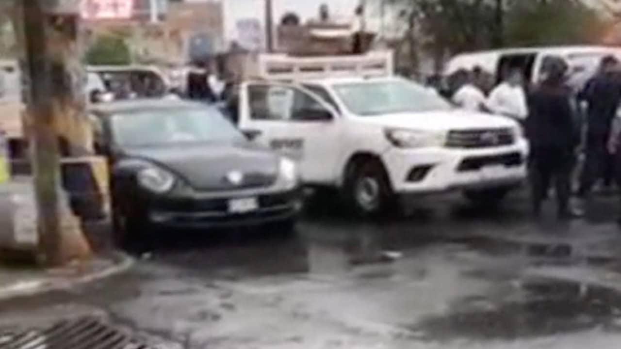Policías ministeriales y municipales se enfrentan en Tlalnepantla (FOROtv)