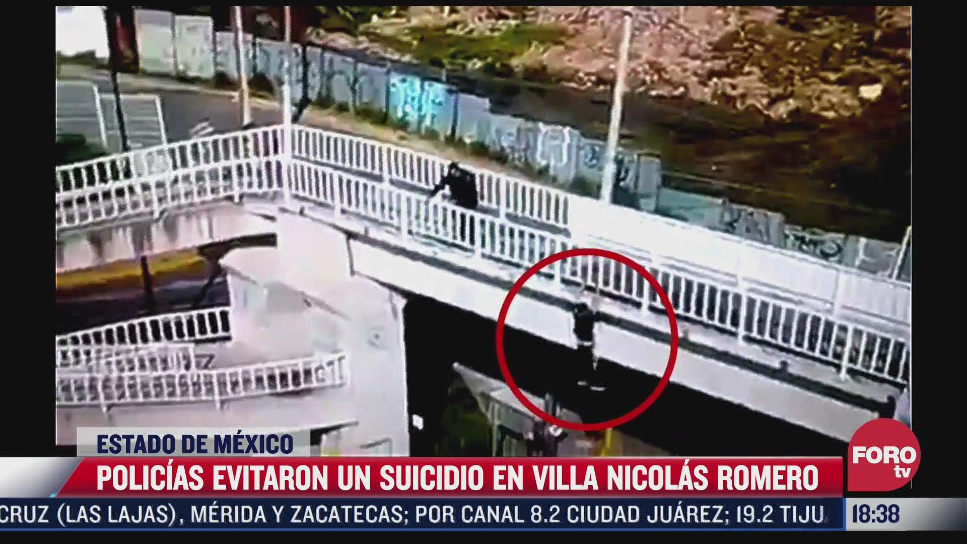 policias evitan suicidio de joven en villa nicolas romero en el edomex