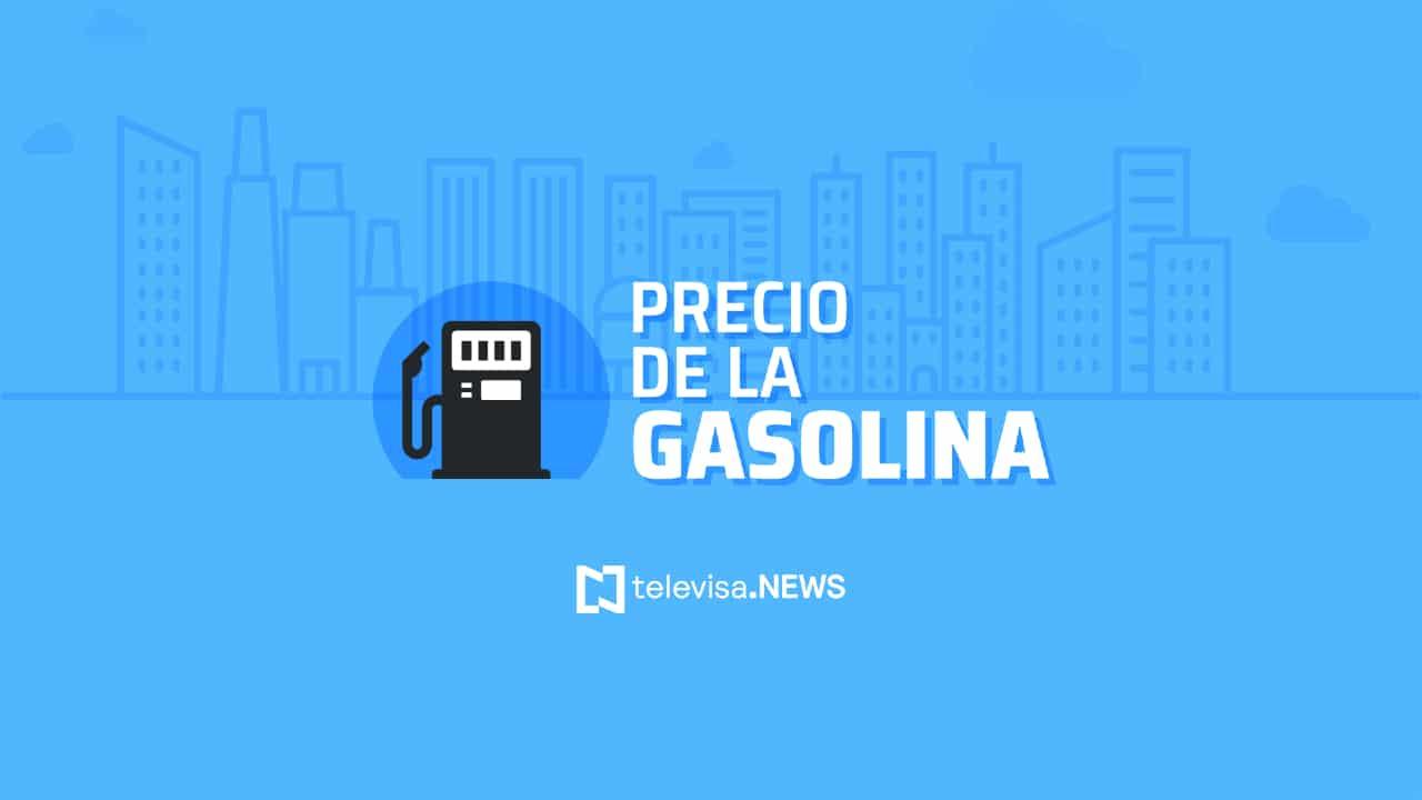 El precio de la gasolina en CDMX es de 20.83 pesos por litro de magna, 22.69 la premium, y el diésel 21.67