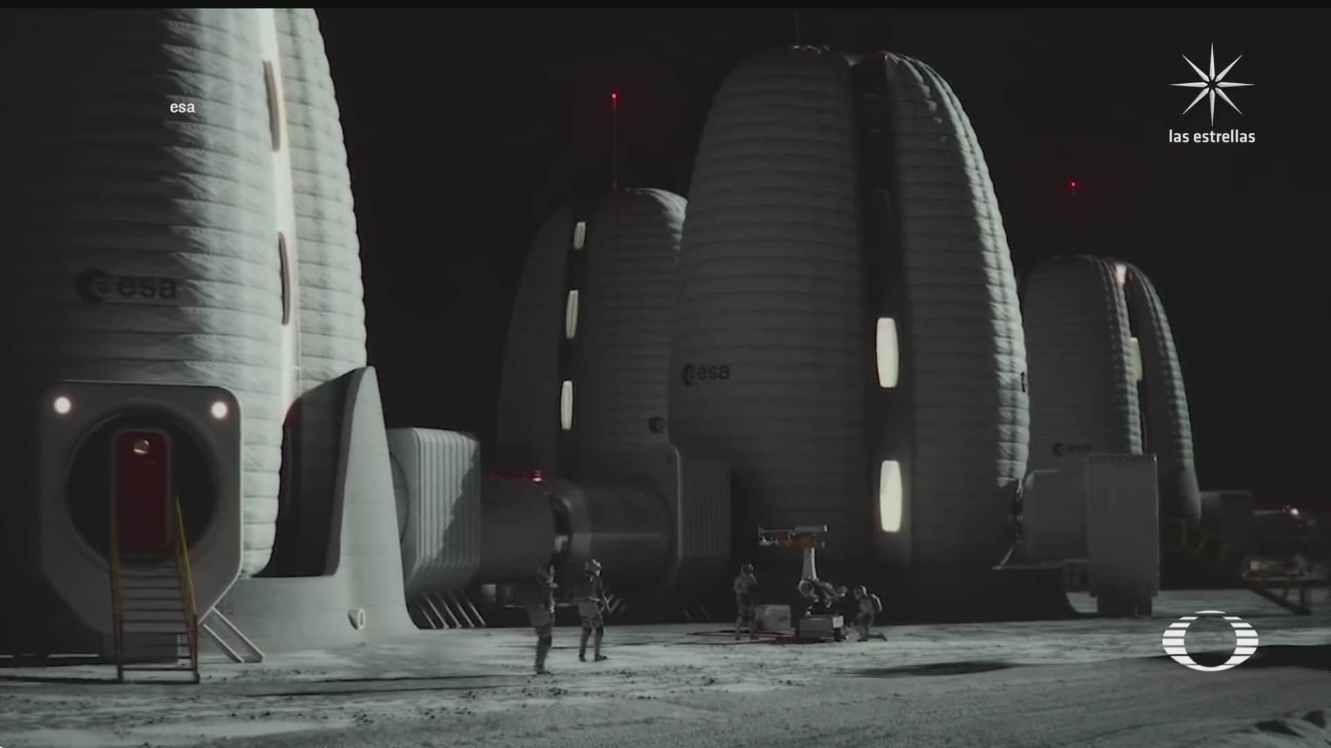 presentan prototipo de vivienda en la luna