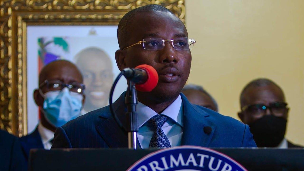 primer ministro interino de Haití, Claude Joseph, archivo
