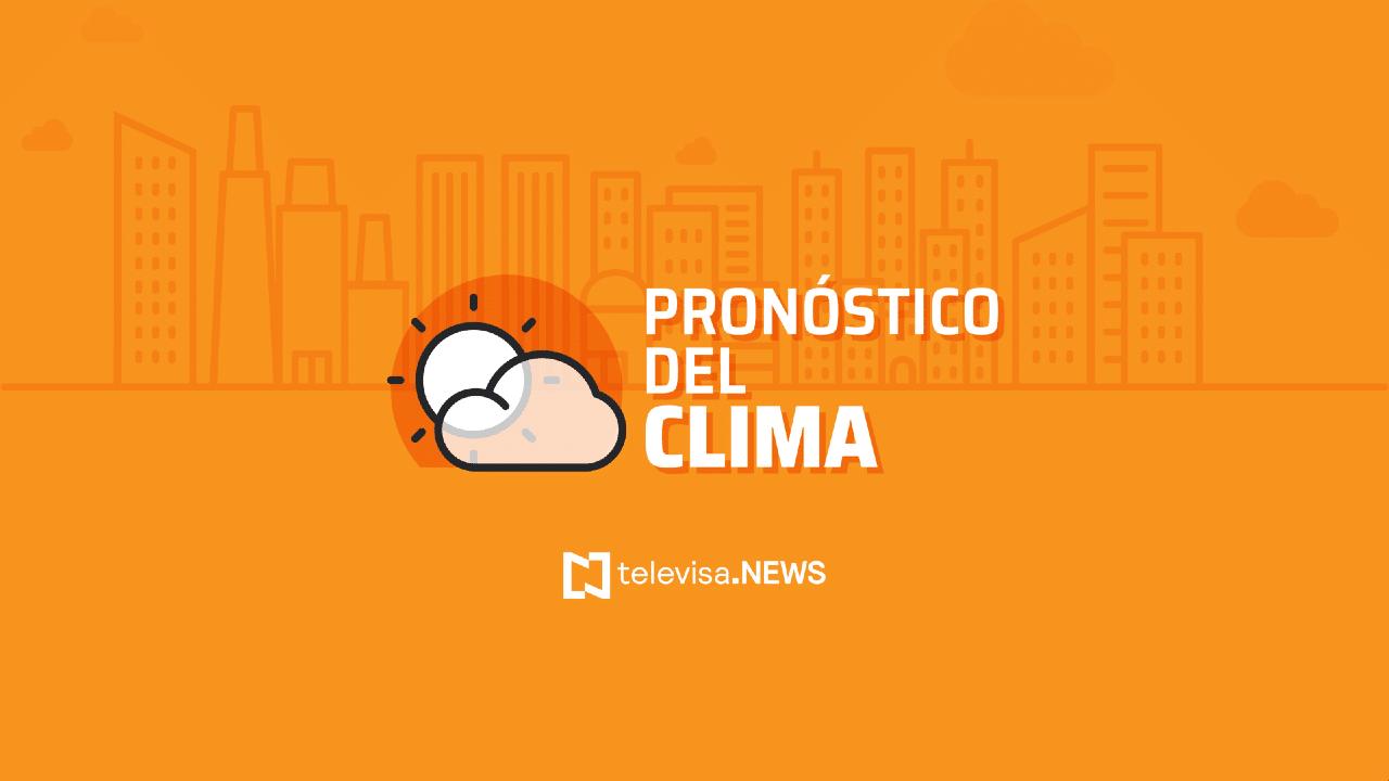 Clima Hoy en México: Prevén lluvias en Durango, Jalisco, Nayarit y Sinaloa