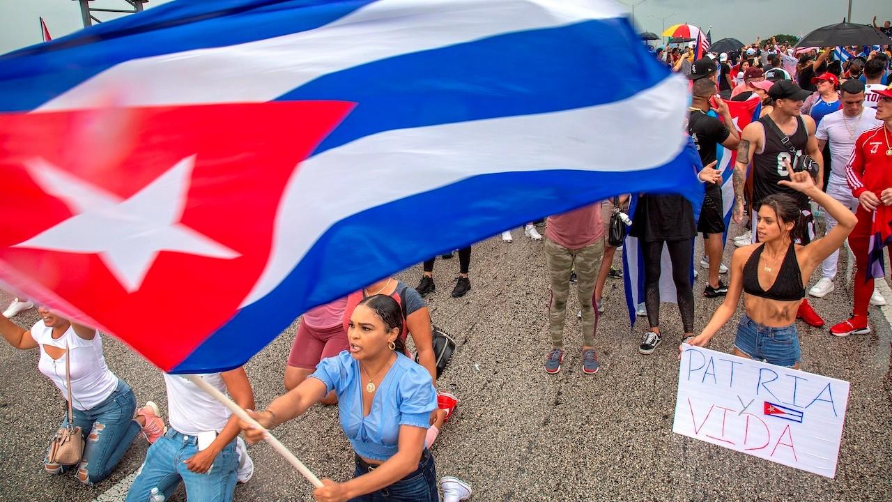 Protestas contra el Gobierno de Cuba (EFE)