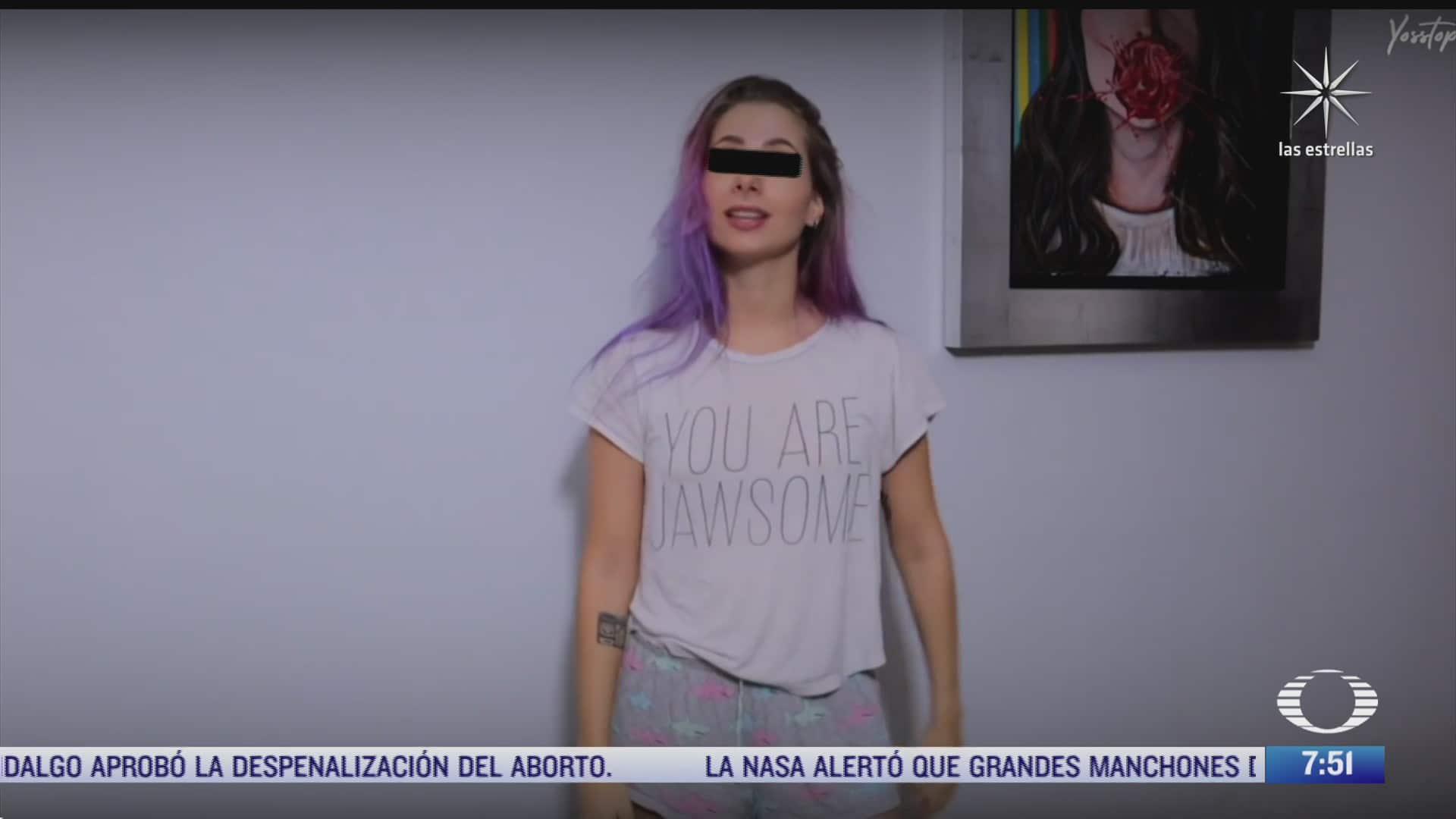 recuento del caso de la youtuber yosstop