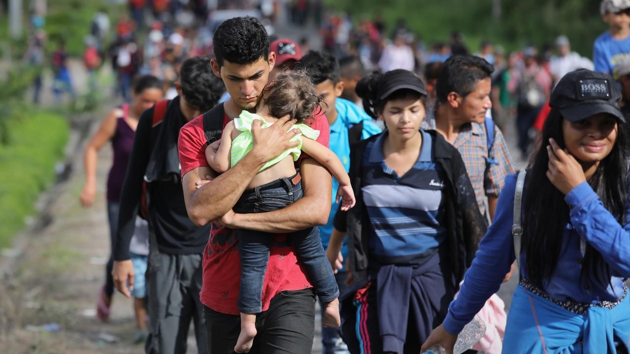 Rescatan a 55 migrantes en domicilio de Reynosa, Tamaulipas