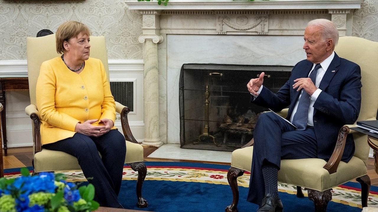 Biden recibe a Merkel con agenda marcada por China