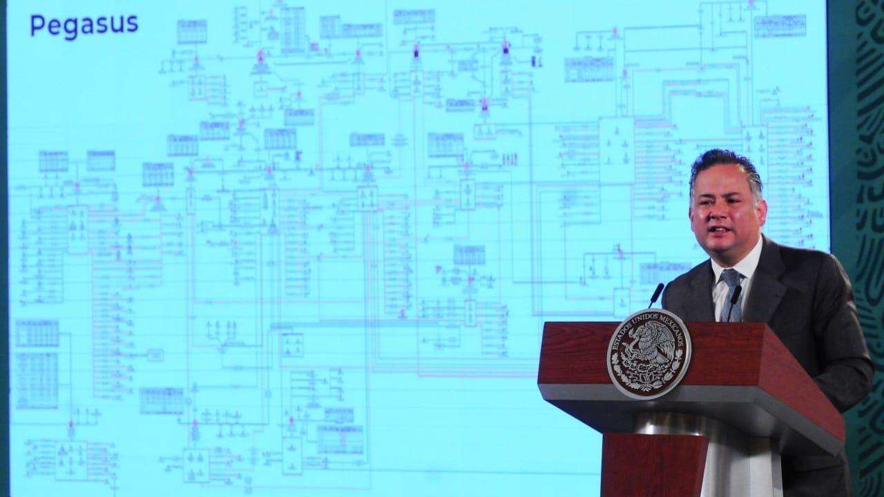 Santiago Nieto, titular de la Unidad de Inteligencia Financiera, explica la situación del software Pegasus.